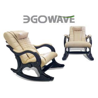 EGO Массажное кресло-качалка EGO WAVE EG-2001 LUX (цвет Карамель)