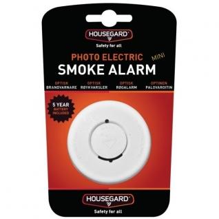Housegard Датчик дыма оптический Housegard Mini KD-128 601087 72 x 37 мм