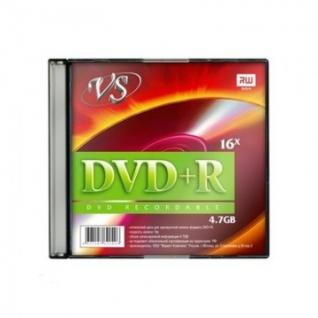 Носители информации VS DVD+R 4,7GB 16x SL/5