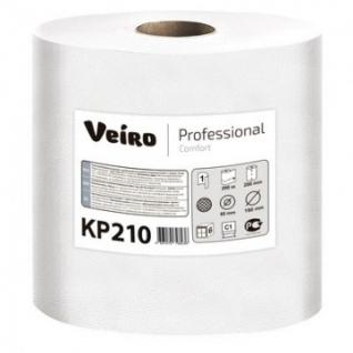 Полотенца бумажные д/держ.Veiro C1 Comfort с ЦВ 1сл.200м 6рул/уп. KP210