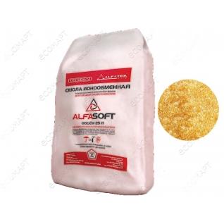 Смола ионообменная ALFASOFT (25л, 19 кг)