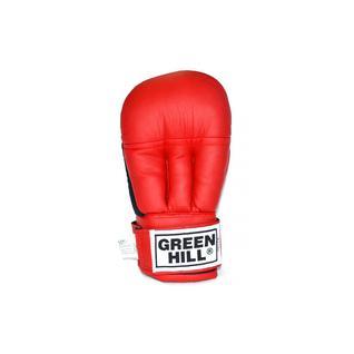 Перчатки для рукопашного боя Green Hill Pg-2047, к/з, красный размер XL
