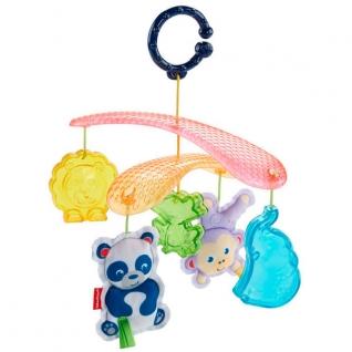 """Подвески для малышей Mattel Fisher-Price Mattel Fisher-Price DYW54 Фишер Прайс Мобиль для прогулок """"Веселые животные"""""""