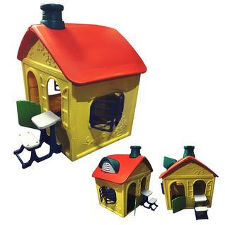 Ching-Ching Детский игровой домик Замок пластиковый ОТ-16