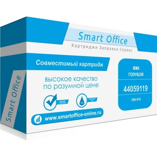 Картридж 44059119 для OKI C810, совместимый, голубой, 8000 стр. 4873-01 Smart Graphics 851573 1