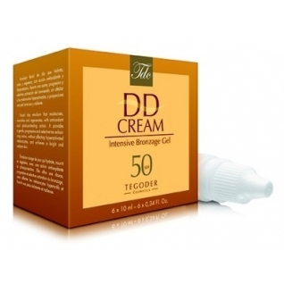DD Intensive Bronzage Cream SPF 50+ - Специальныи DD-крем для кожи лица Tegoder