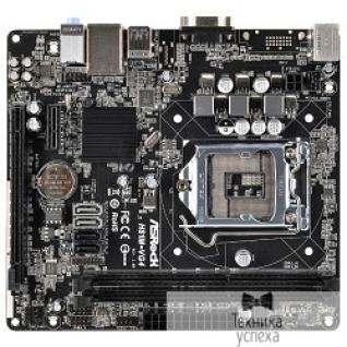 Asrock ASRock H81M-VG4 (R3.0) RTL S1150, H81, DDR3, 5.1ch-Audio, PCI-E, GBL, SATAII, SATAIII, USB, D-Sub, mATX (uATX)