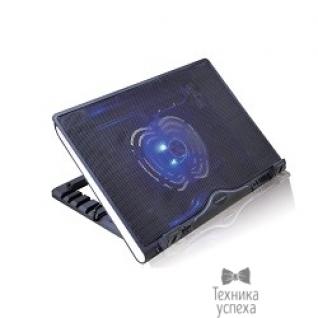 """Crown CROWN Подставка для ноутбука CMLS-925 (Black) 12""""-15,6"""", 1*Fan,blue light,2*USB"""