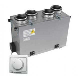 Приточно-вытяжная установка ВУТ 200 В мини (ЕС)