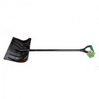 Лопата снеговая пластиковая 505х340,мет.черен PALISAD(61568/61501)