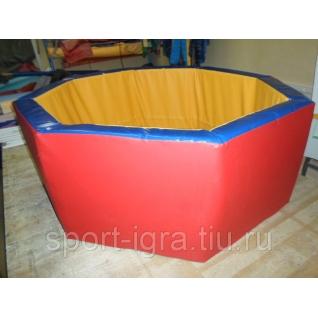 Сухой бассейн восьмиугольныйй d-150см h-50см