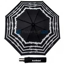 """Зонт складной """"Бантики"""" черный"""