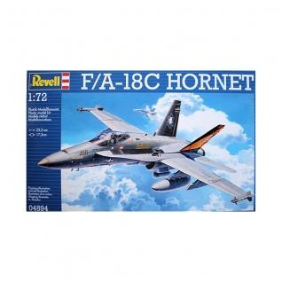 Сборная модель истребителя McDonnel Douglas F/A-18C Hornet, 1:72 Revell