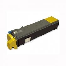 Совместимый тонер-картридж TK-520Y для Kyocera Mita FS-C5015N (желтый, 4000 стр.) 4527-01 Smart Graphics