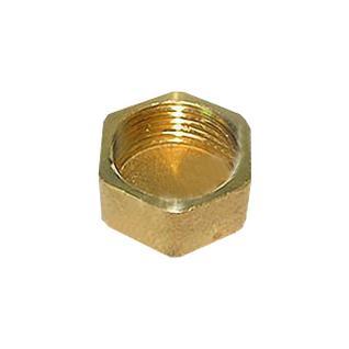Заглушка латунная (колпак) Ду-20 внутр. резьба (1002) ВЛМЗ
