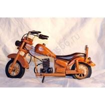Сувенир из дерева мотоцикл