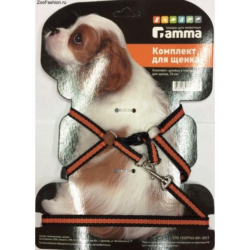 Комплект шлейка и поводок для щенка из капрона ( ) 36989322