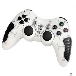 3Cott 3Cott Single GP-06 белый USB 3Cott-GP-06W Геймпад ,14 кнопок, вибрация