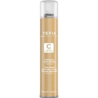 Hairspray Extra Strong - Лак-спрей для волос экстра сильной фиксацией с д-пантенолом Tefia