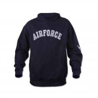 Rothco Толстовка Rothco Airforce с капюшоном, цвет синий