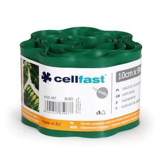 Обрамления огородно-газонные CELLFAST 10 x 9м темно-зеленый