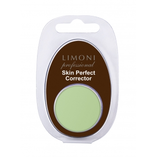 "LIMONI - Корректор для лица ""Skin Perfect corrector"" 01 зеленый"