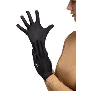 Многоразовые защитные перчатки взрослые Mujjo Black M/L Routemark