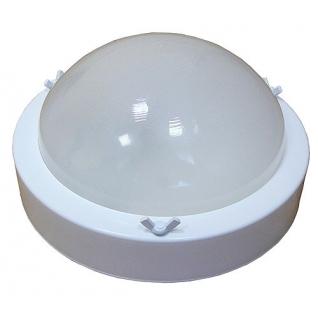 Светильник для бани ТЕРМА 3 белый (круглый, до +120 С, IP65, арт. НББ 03-60-003)