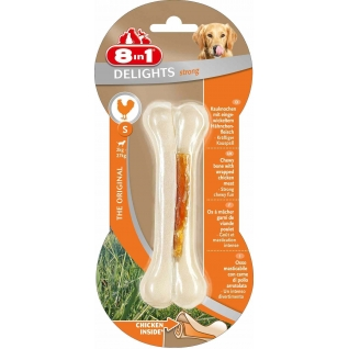 8in1 8in1 DELIGHTS Strong S косточка для чистки зубов 11 см