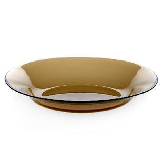 Тарелка суповая БРОУНЗ дымчатая 22см (10331SLBZ)