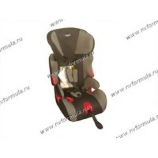 Кресло детское SIGER Космо группа 1,2,3 от 9-36кг серое