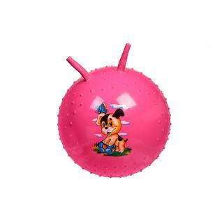 Мяч детский массажный (Розовый) BRADEX