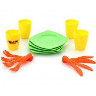 Набор детской посуды столовый на 4 персоны Полесье