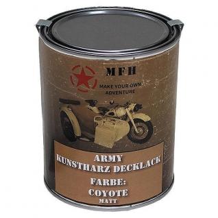MFH Лак защитный Army, цвет матовый койот, 1 л.