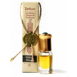Арабские духи - Концентрированое парфюмерное масло Зейтун №7 Белый мускус ролл-он