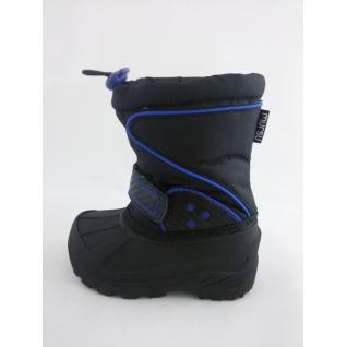 1027082 черны/синий сапожки зимние длмальчика р.24-29 (25) Mursu