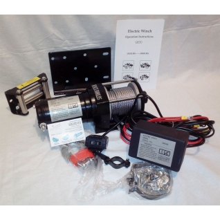 Лебедка автомобильная ATV Electric Winch 12v 3000 LBS