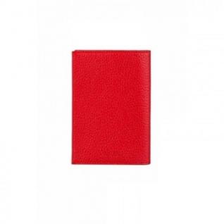 Бумажник водителя FABULA BV.1.BK.красный