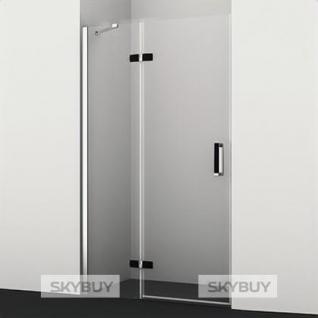 Душевая дверь в нишу Wasserkraft Aller Black 10H05LB 120 см
