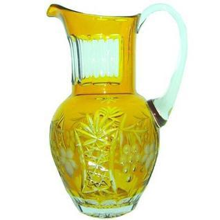 Кувшин для воды Ajka Crystal Grape 1,2 л (арт. amber/64571)
