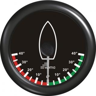 Wema Индикатор положения пера руля чёрный Wema RRR-Rudder 0 - 180 Ом 12/24 В