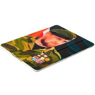 Чехол-книжка кожаный Jisoncase Executive Print для iPad 4/ 3/ 2 JS-IPD-06 с рисунком (тренд) Рамзан Кадыров тип 002