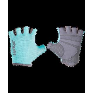 Перчатки для фитнеса Starfit Su-127, мятный/серый размер S