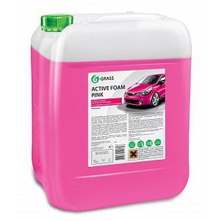 Активная пена Grass Active Foam Pink Цветная, 12 кг