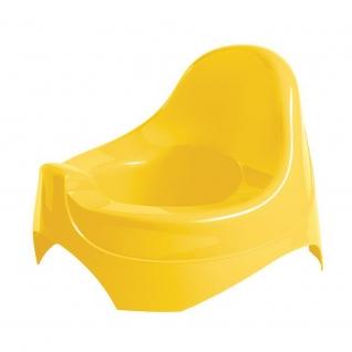 Детский горшок, желтый Бытпласт