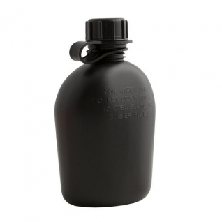 Hayes Tooling and Plastics Фляга полевая складная 1 К, цвет черный