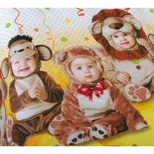 Комплект ясельного постельного белья Детский праздник с компаньоном, бязь