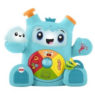 """Развивающие игрушки для малышей Mattel Fisher-Price Mattel Fisher-Price FXD10 Фишер Прайс """"Смейся и учись"""" Роккит и Спарки"""