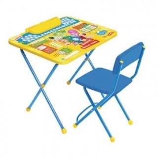 Мебель для гостиниц ET_Комплект Фиксики Азбука 1 (стол+стул) Ф1А