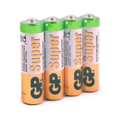 Батарейки GP Super эконом AA/LR6/15A 4шт/уп GP15ARS-2SB4 37870970